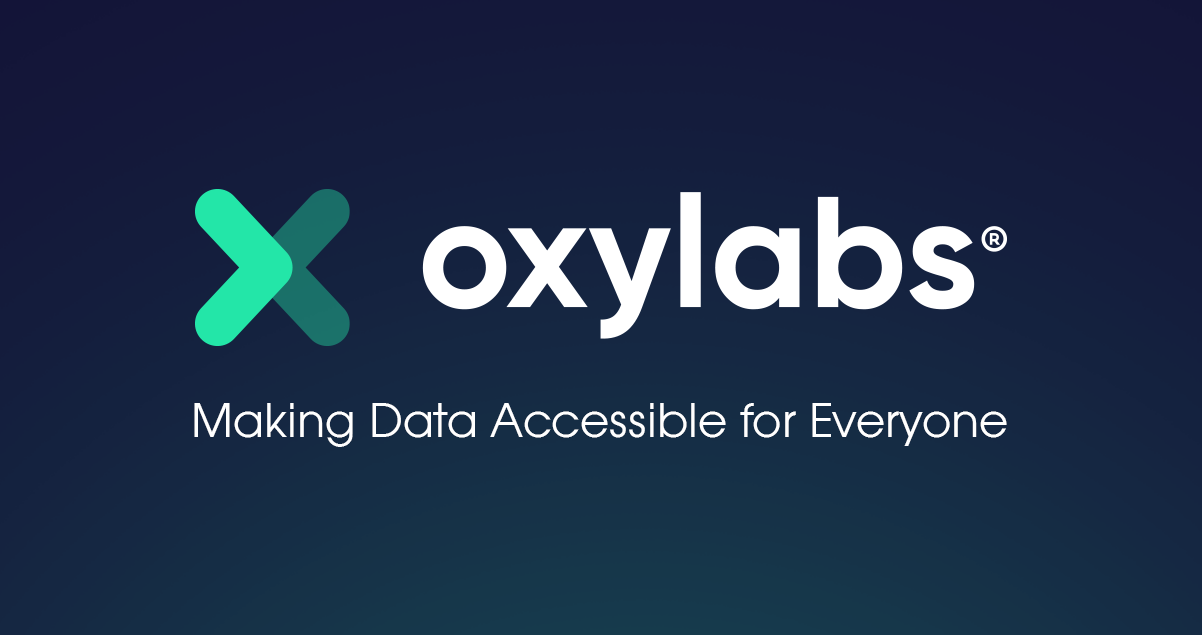 Innovative Proxy Service to Gather Data at Scale | Oxylabs
