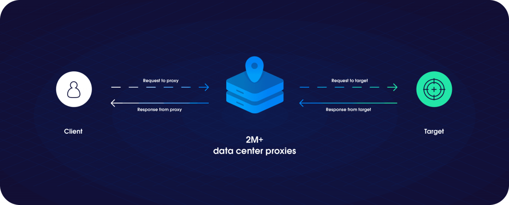 Data center proxies