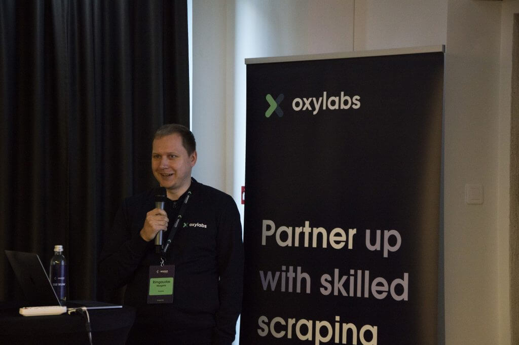 Rimgaudas Mazgelis, Head of Research Department @Oxylabs