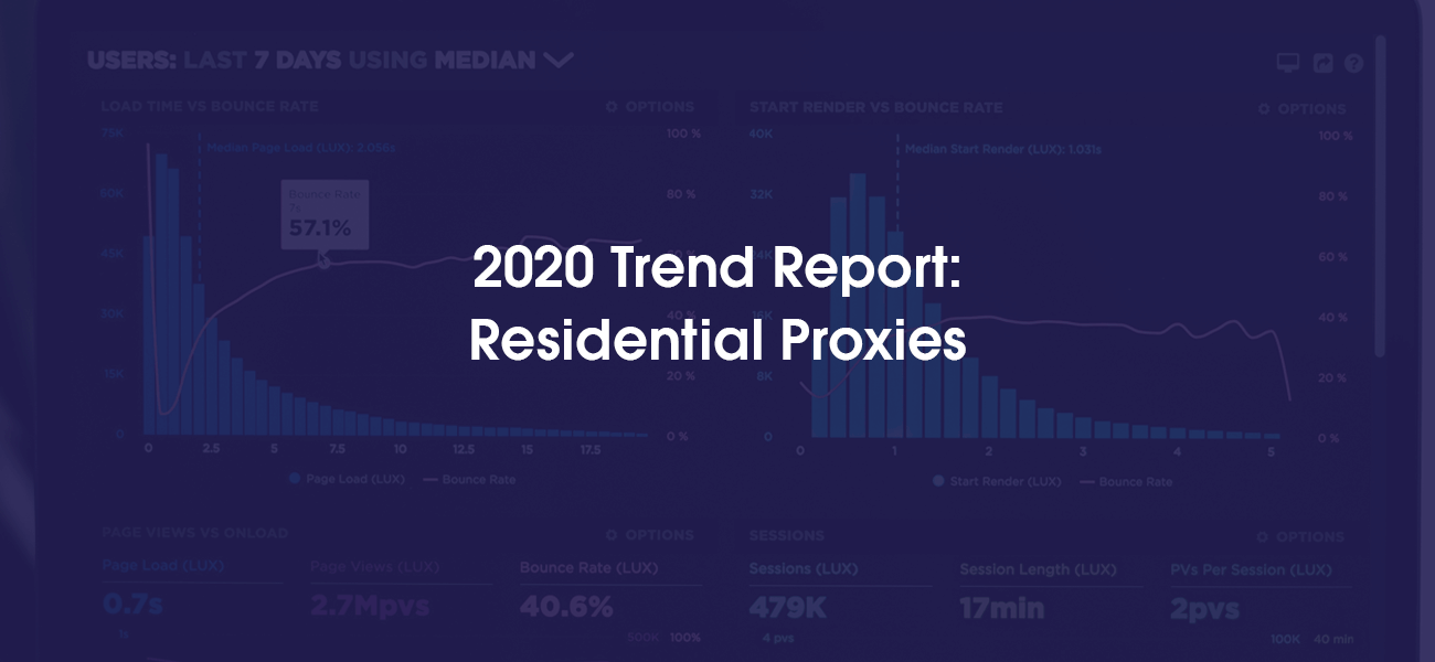 Oxylabs' 2020 Trend Report: Residential Proxies