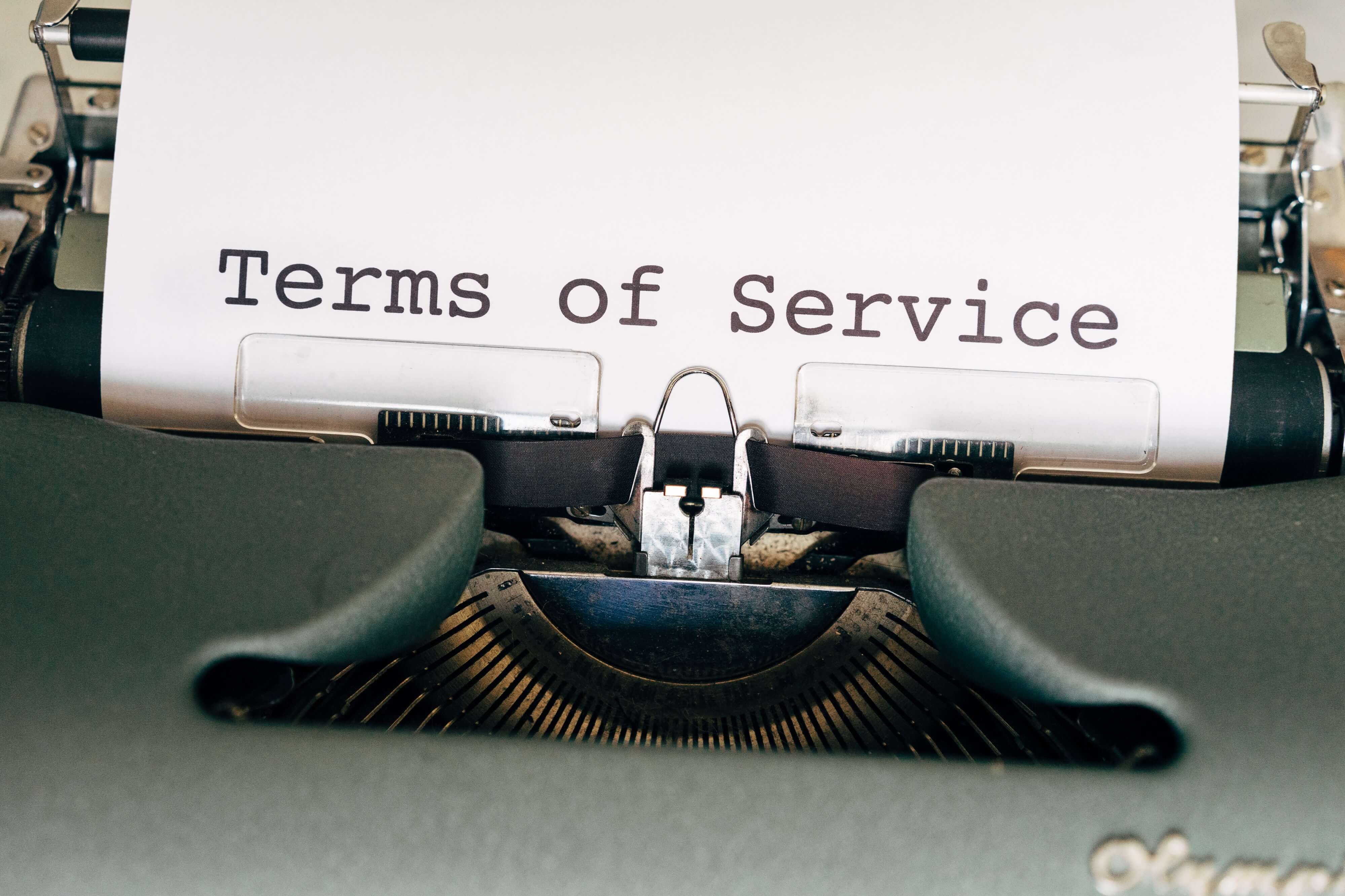 Terms of service may forbid any kind of automatic data collection.