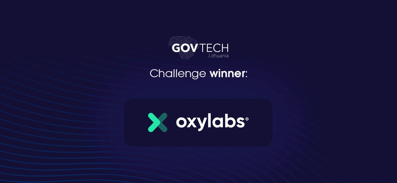 Oxylabs Wins GovTech Lab Challenge With AI-Driven Solution
