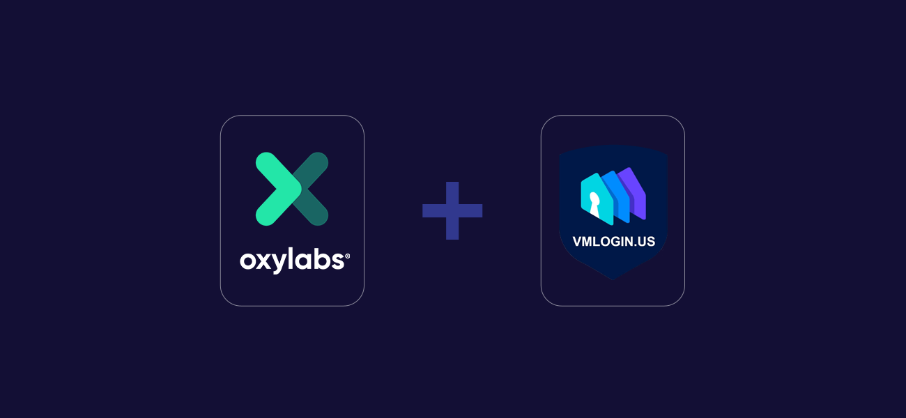 VMLogin Integration with Oxylabs