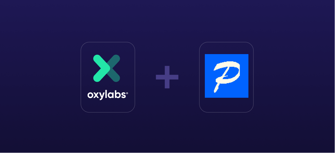 Postern Proxy Integration with Oxylabs