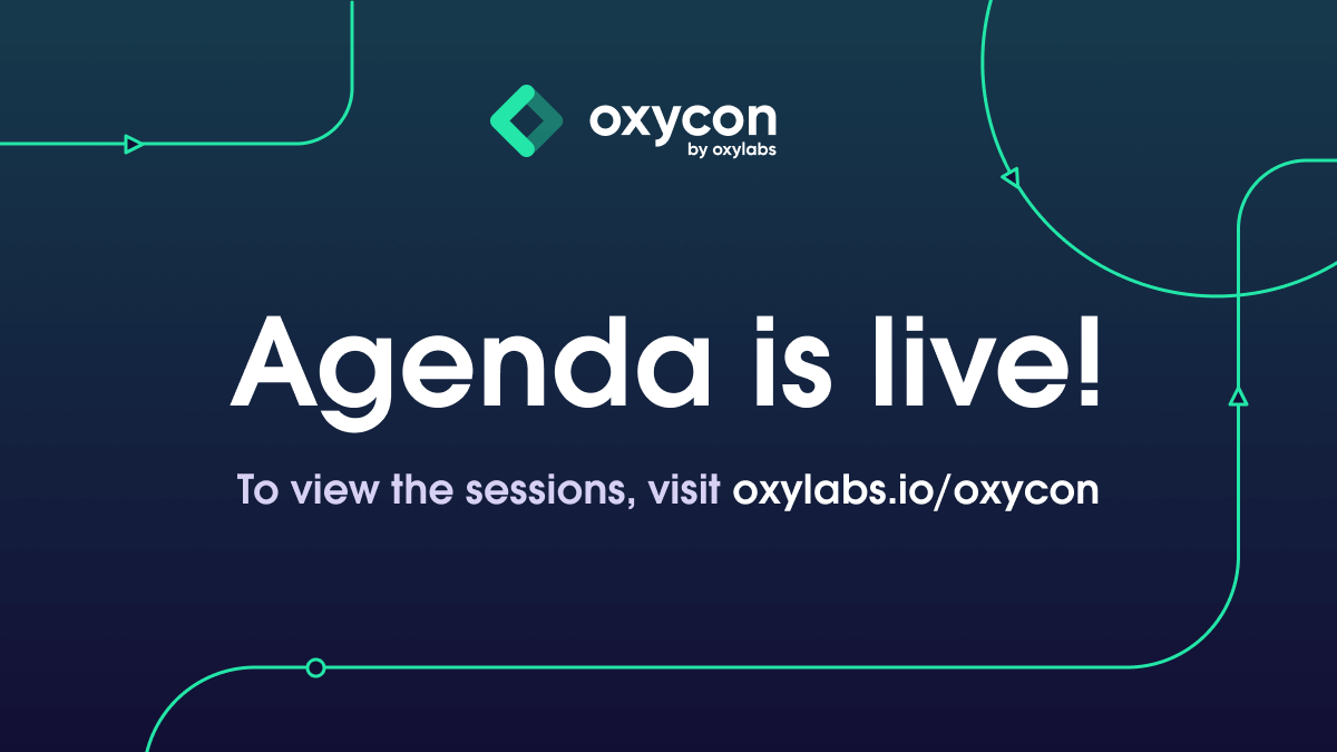 OxyCon Agenda Announced – How to Make the Most of It?